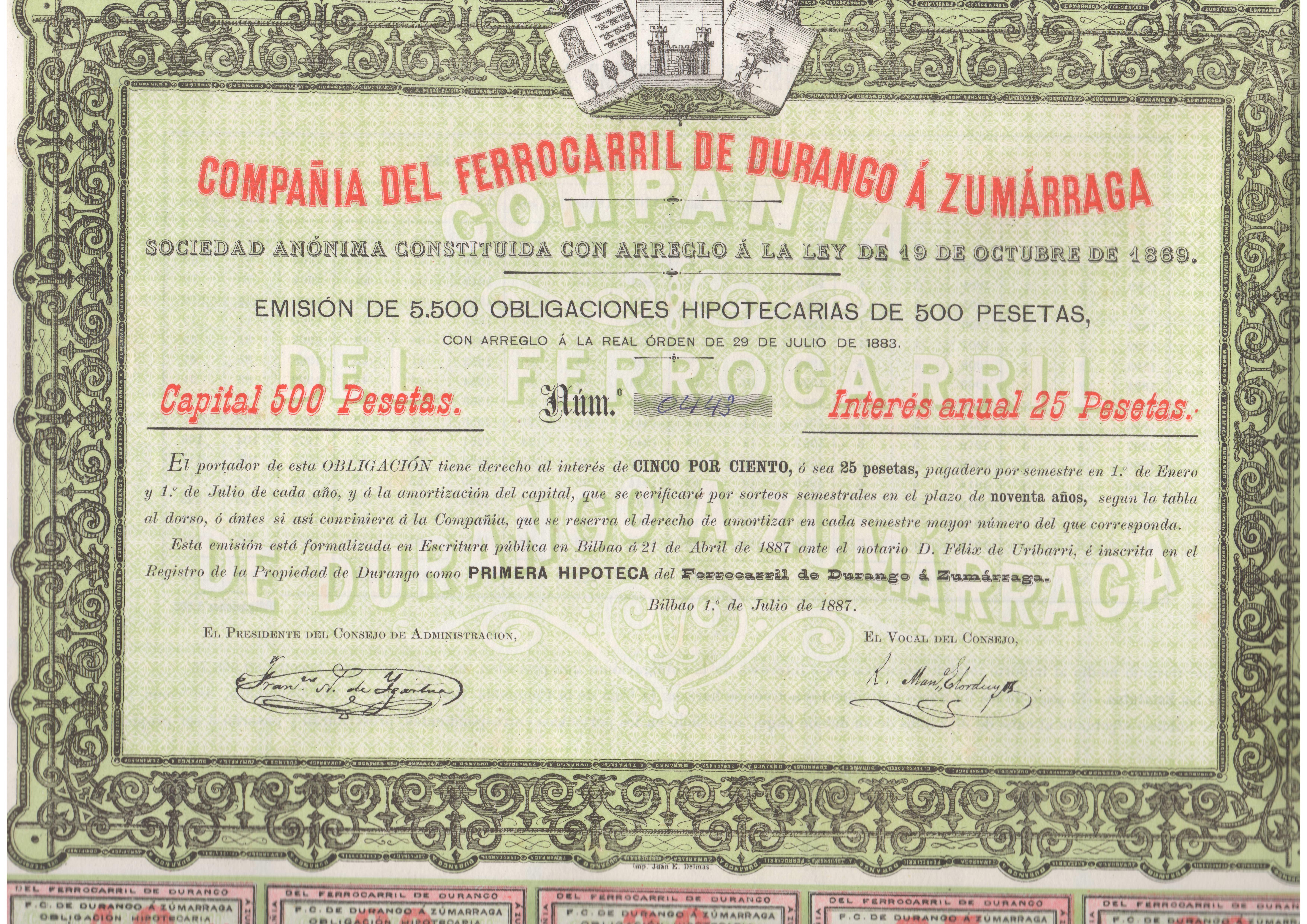 Compañía del Ferrocarril de Durango a Zumárraga