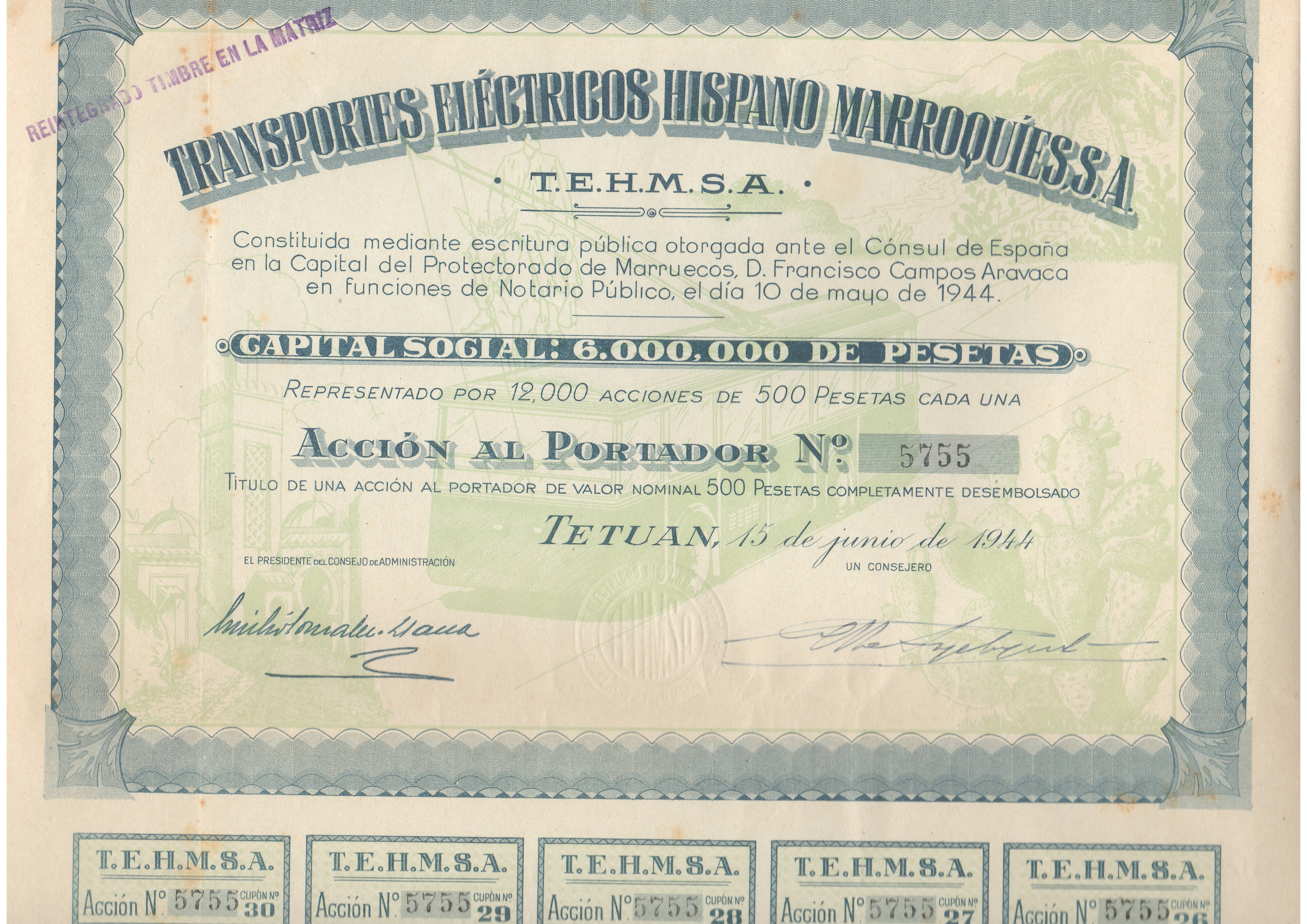 Transportes Eléctricos Hispano Marroquíes S.A.