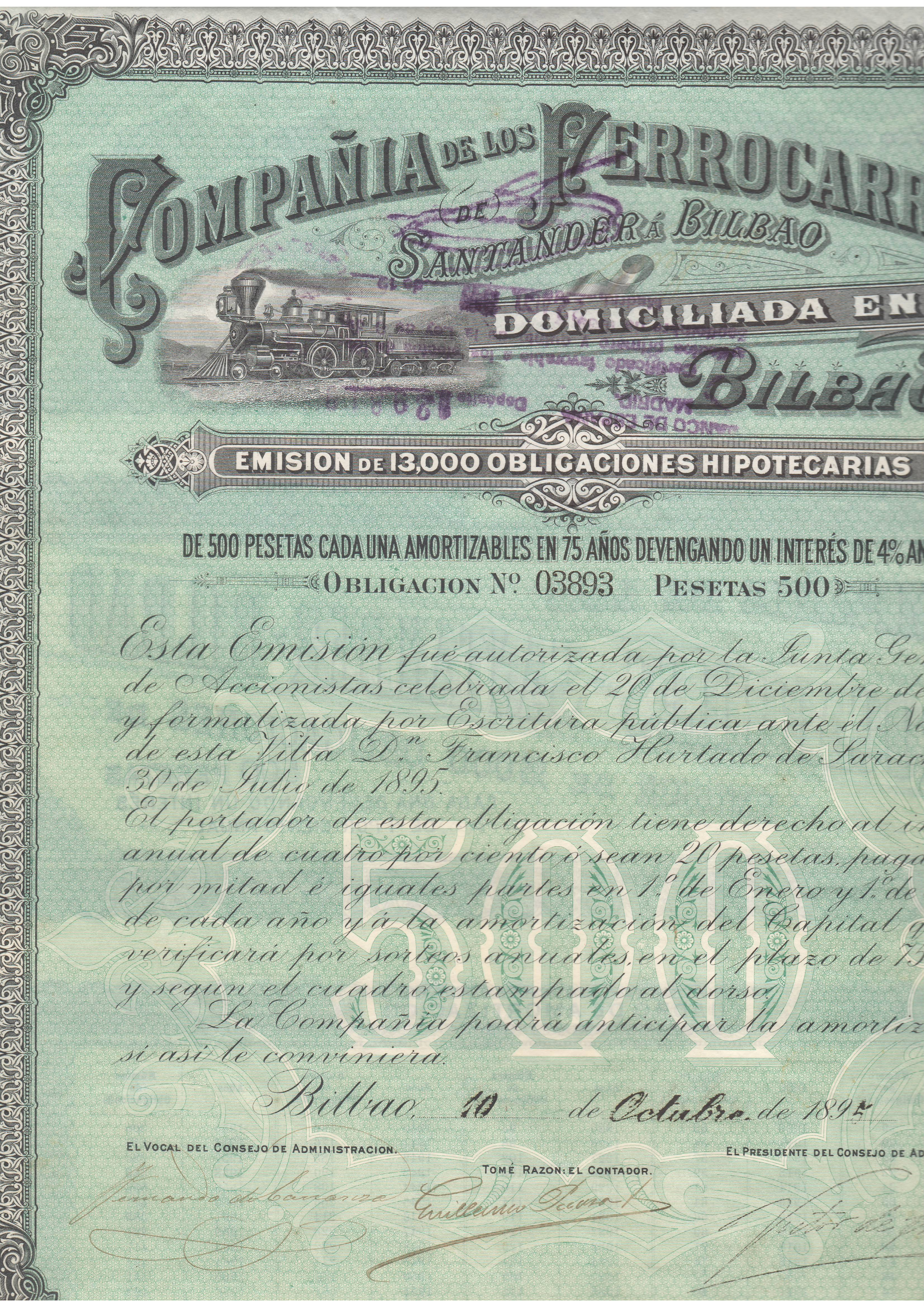 Compañía de los Ferrocarriles Santander a Bilbao