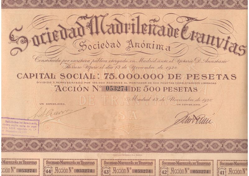 Sociedad Madrileña de Tranvías