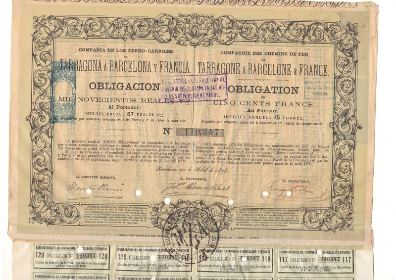 Compañía de los Ferro-carriles Tarragona a Barcelona y Francia