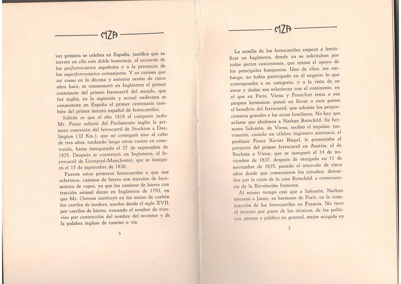 Los iniciadores y promotores de los Caminos de Hierro en España (1830-1855)