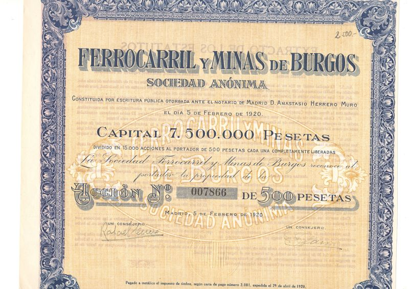 Ferrocarril y Minas de Burgos