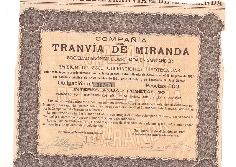 Compañía del Tranvía de Miranda