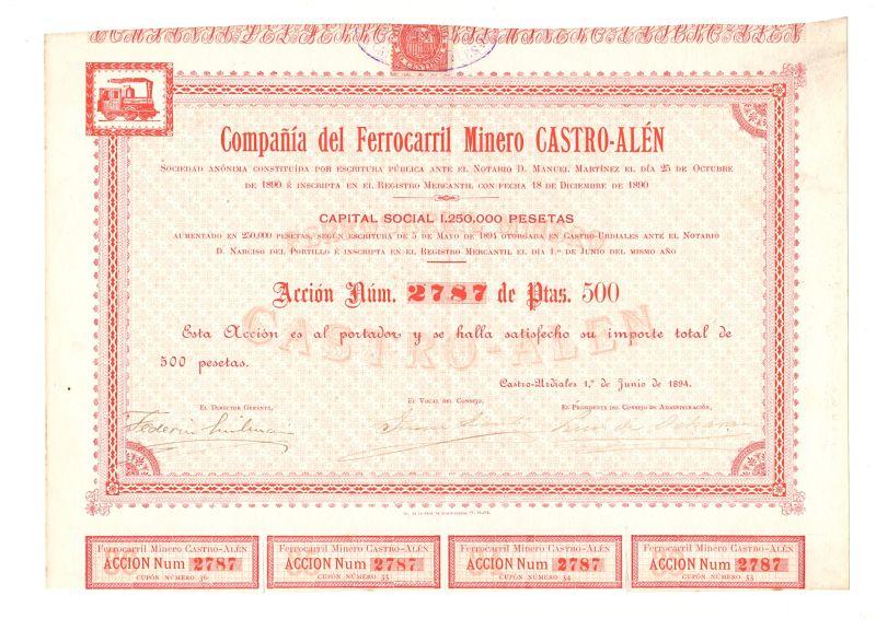 Compañía del Ferrocarril Minero Castro-Alén