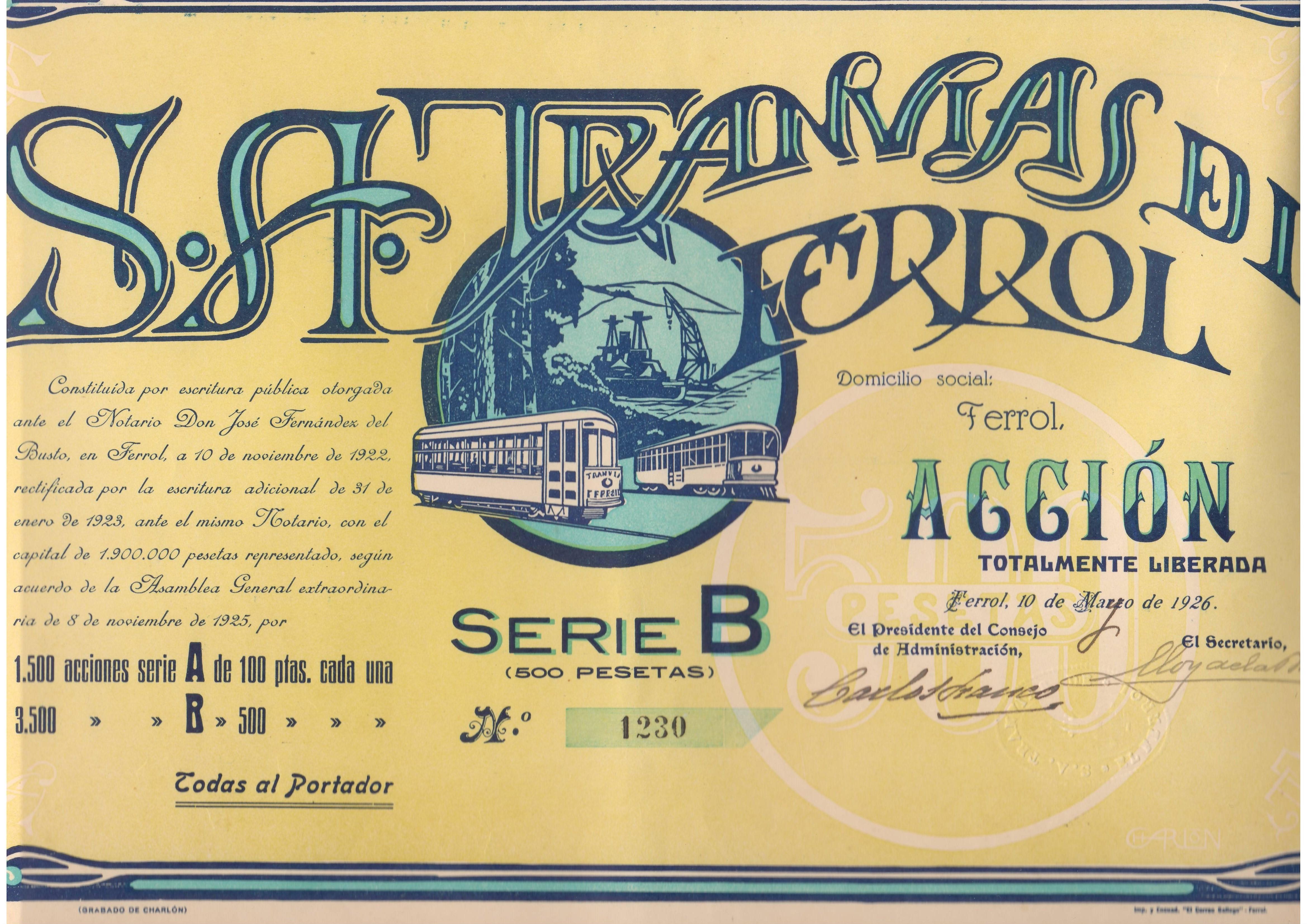 Sociedad Anónima de Tranvías del Ferrol