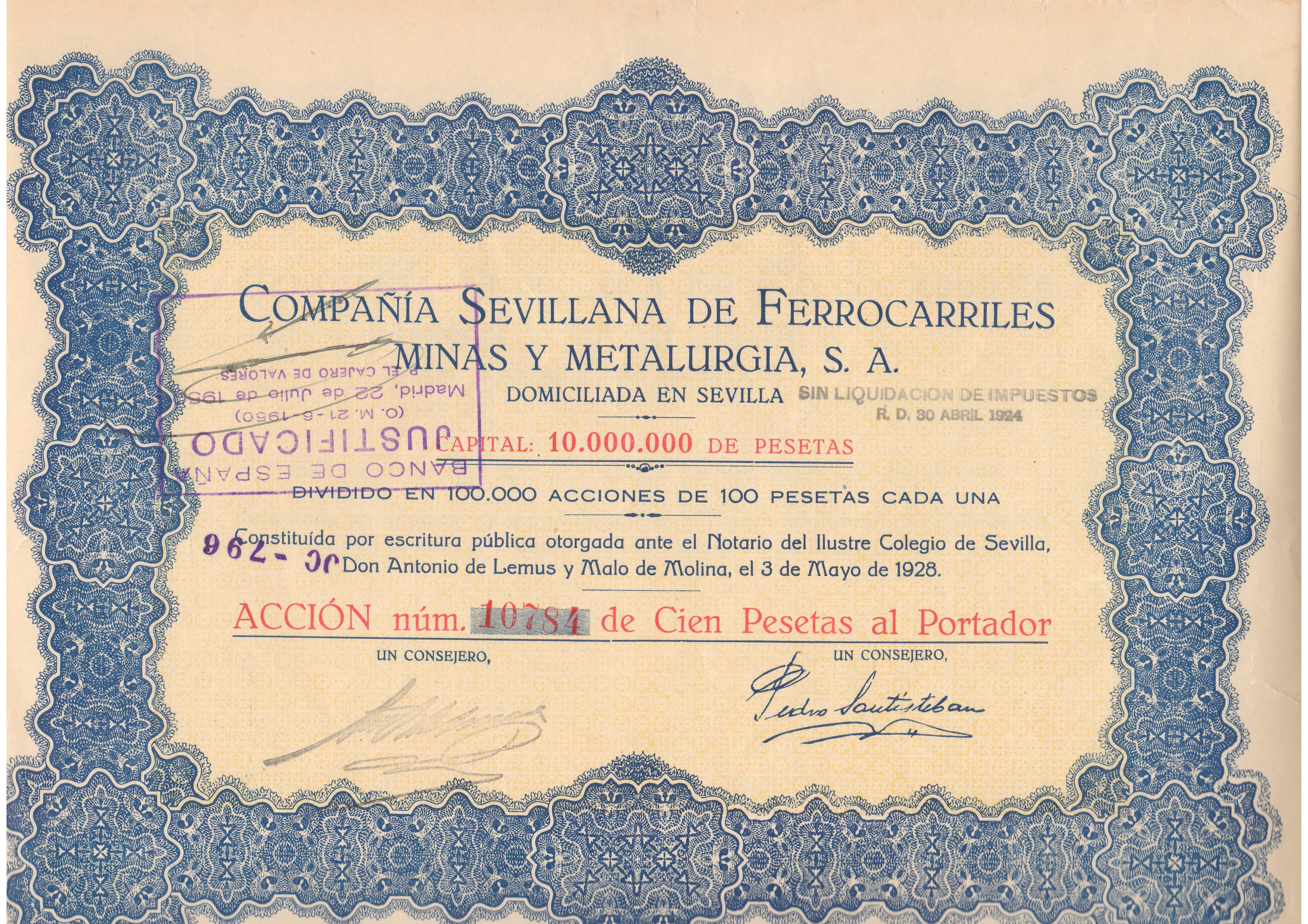 Compañía Sevillana de Ferrocarriles Minas y Metalurgia