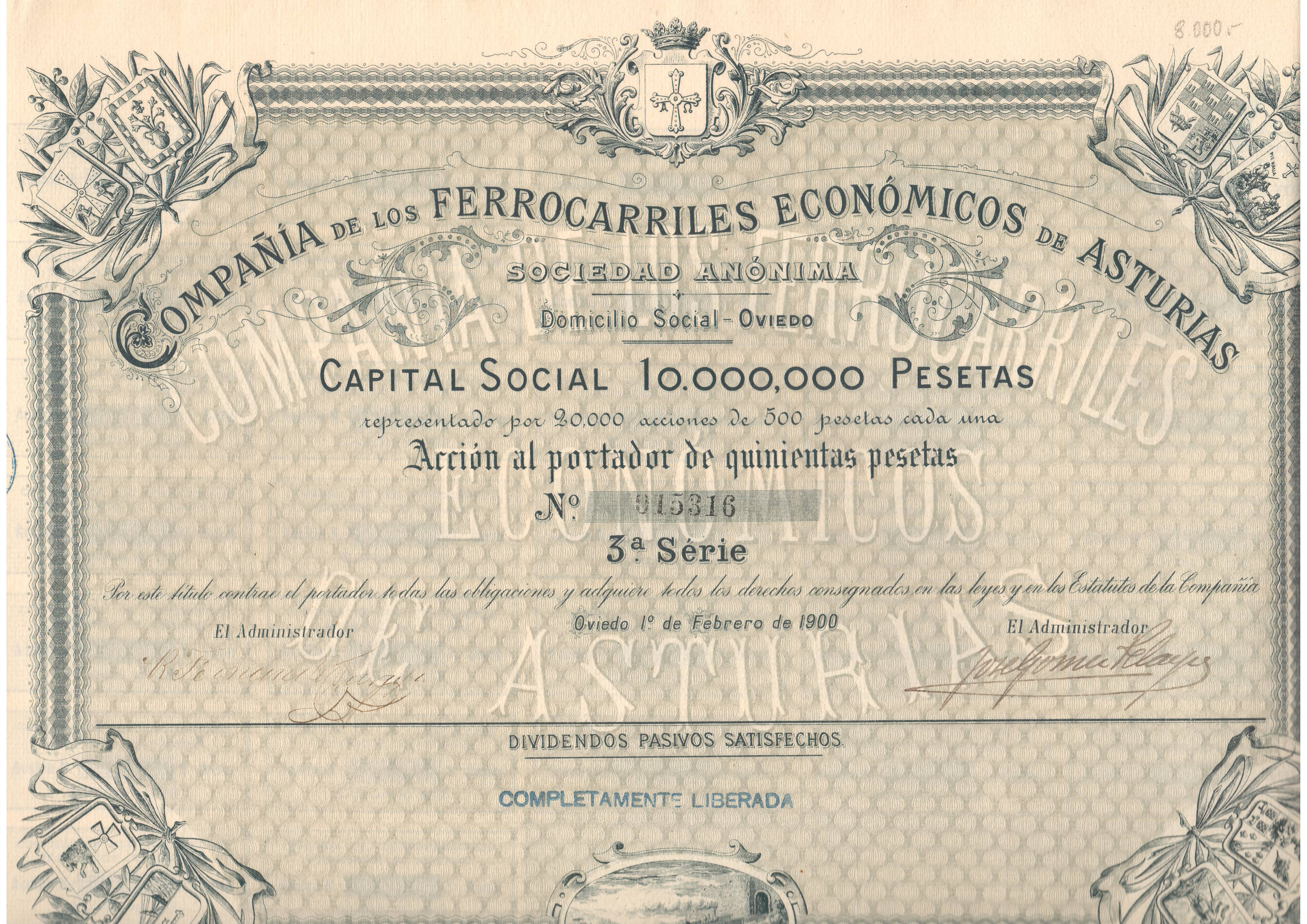 Compañía de los Ferrocarriles Económicos de Asturias