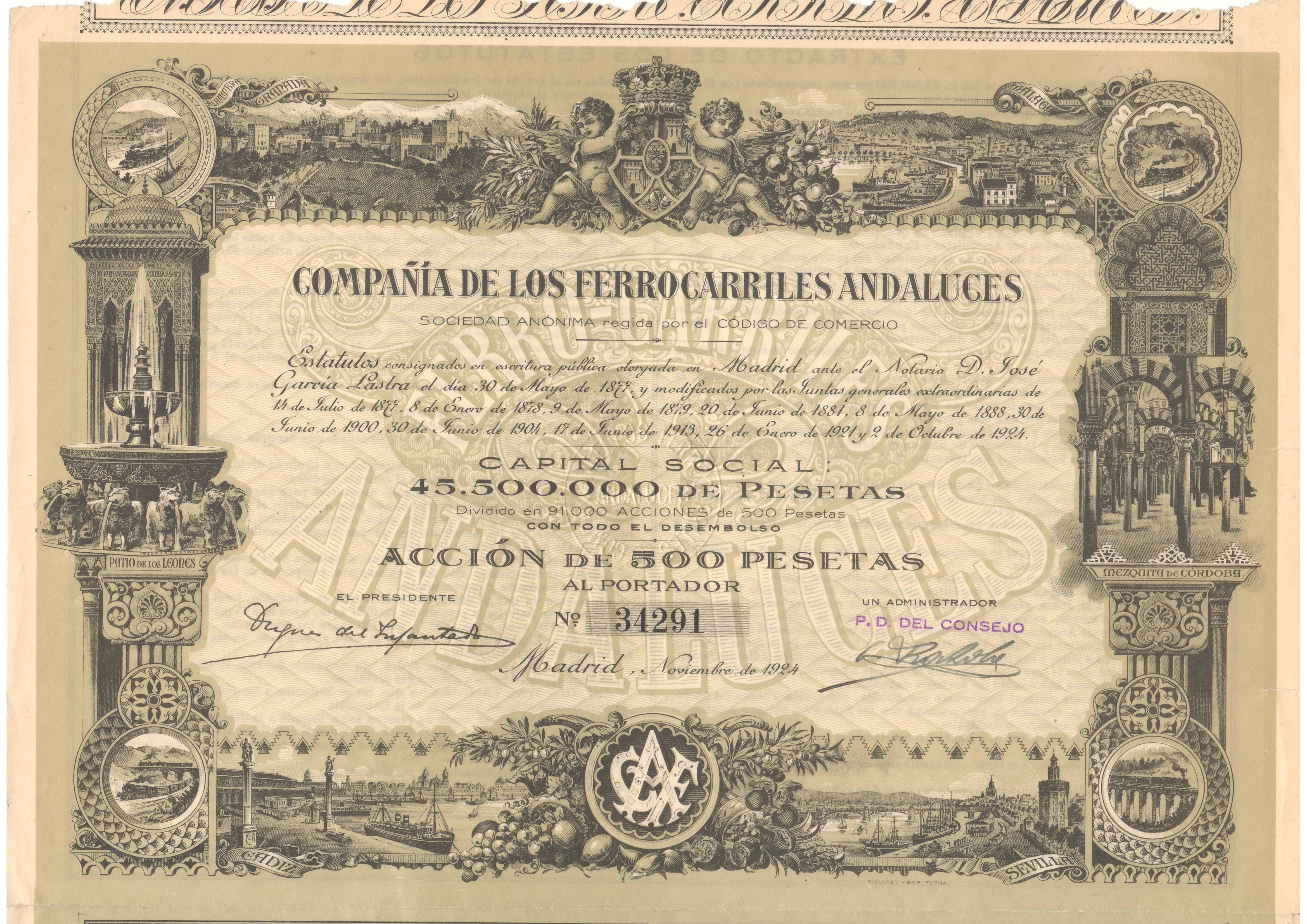 Compañía de los Ferrocarriles Andaluces