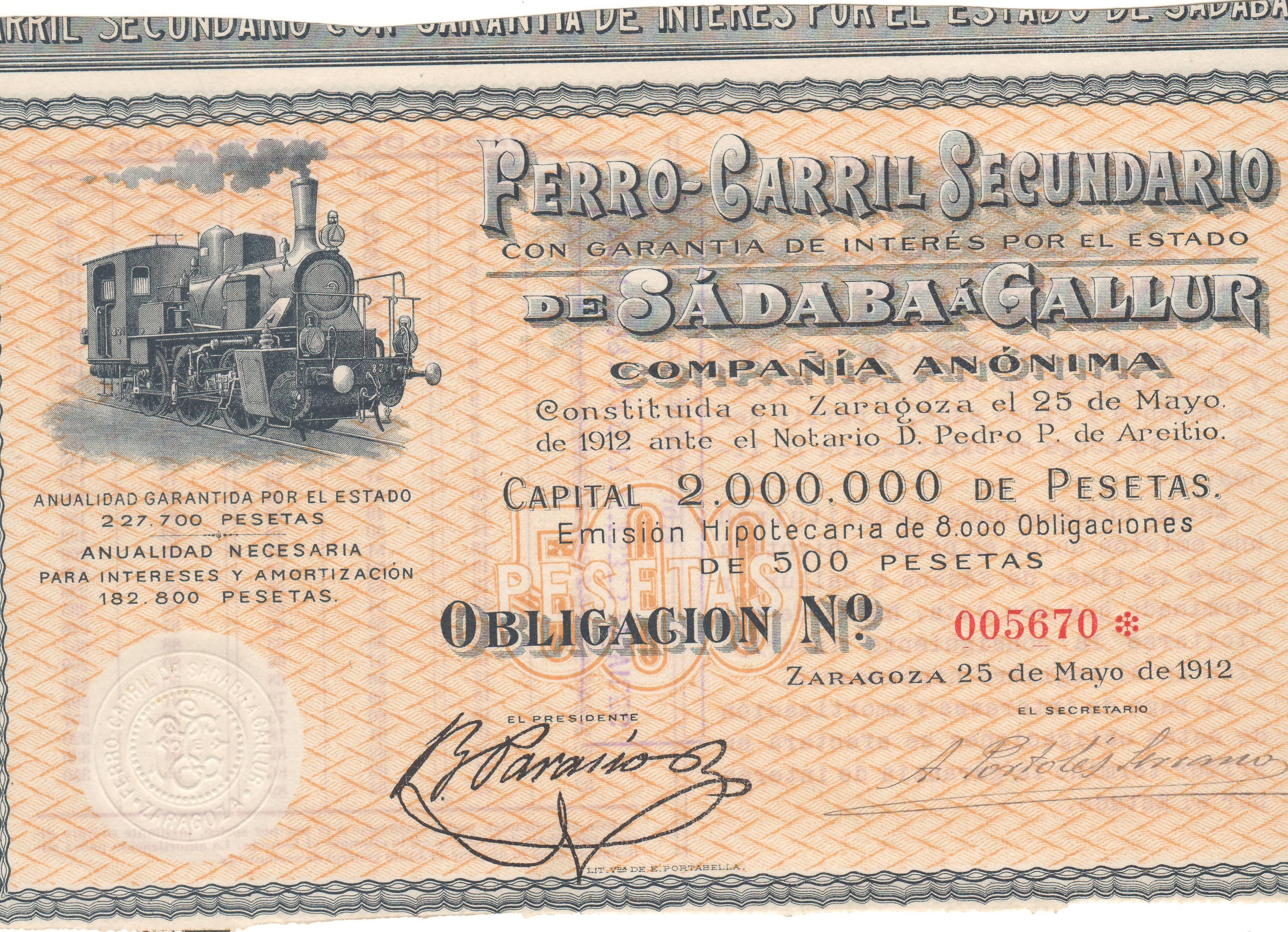 Ferrocarril Secundario de Sádaba a Gallur
