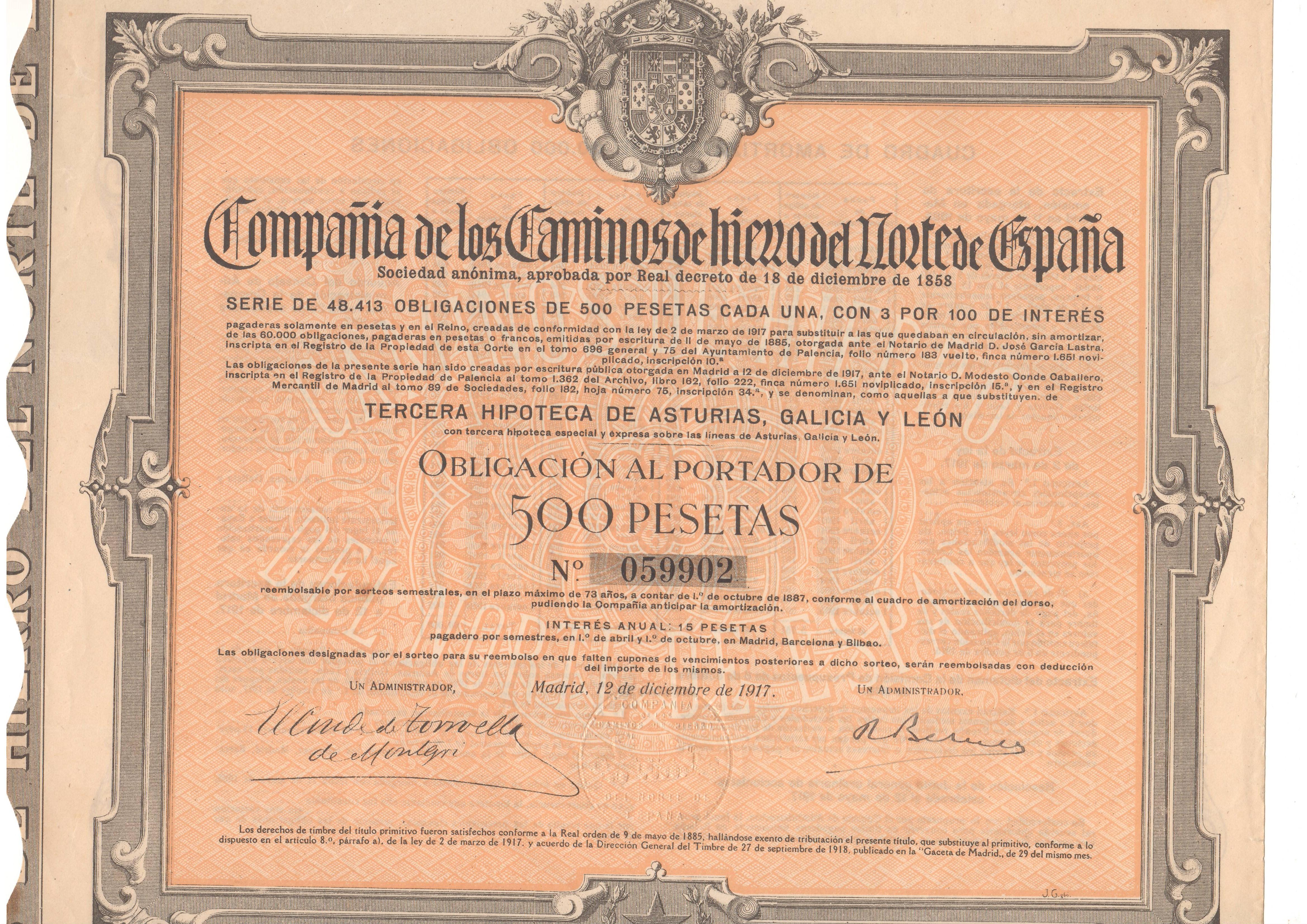 Compañía de los Caminos de Hierro del Norte de España
