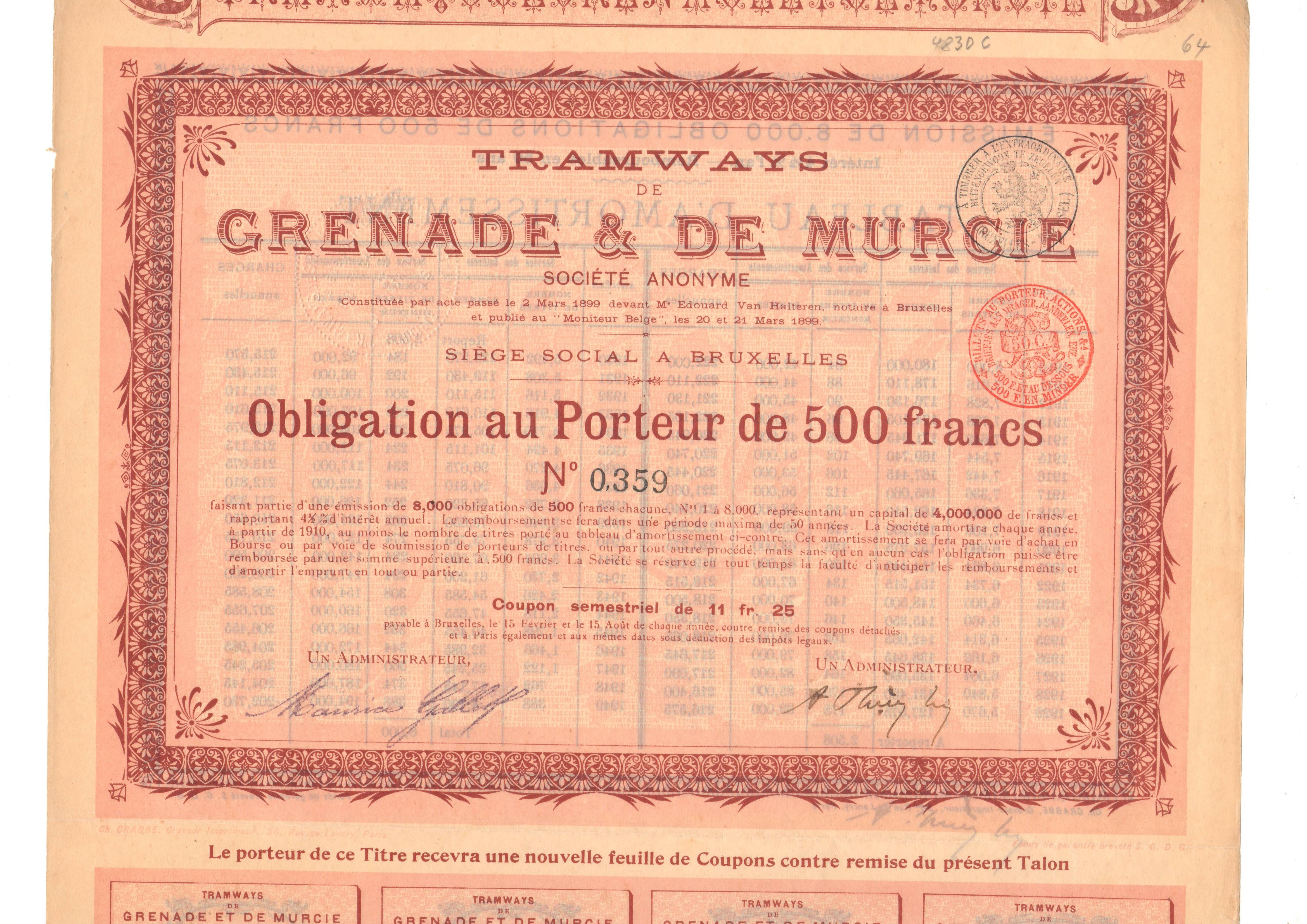 Tramways de Grenade y de Murcie