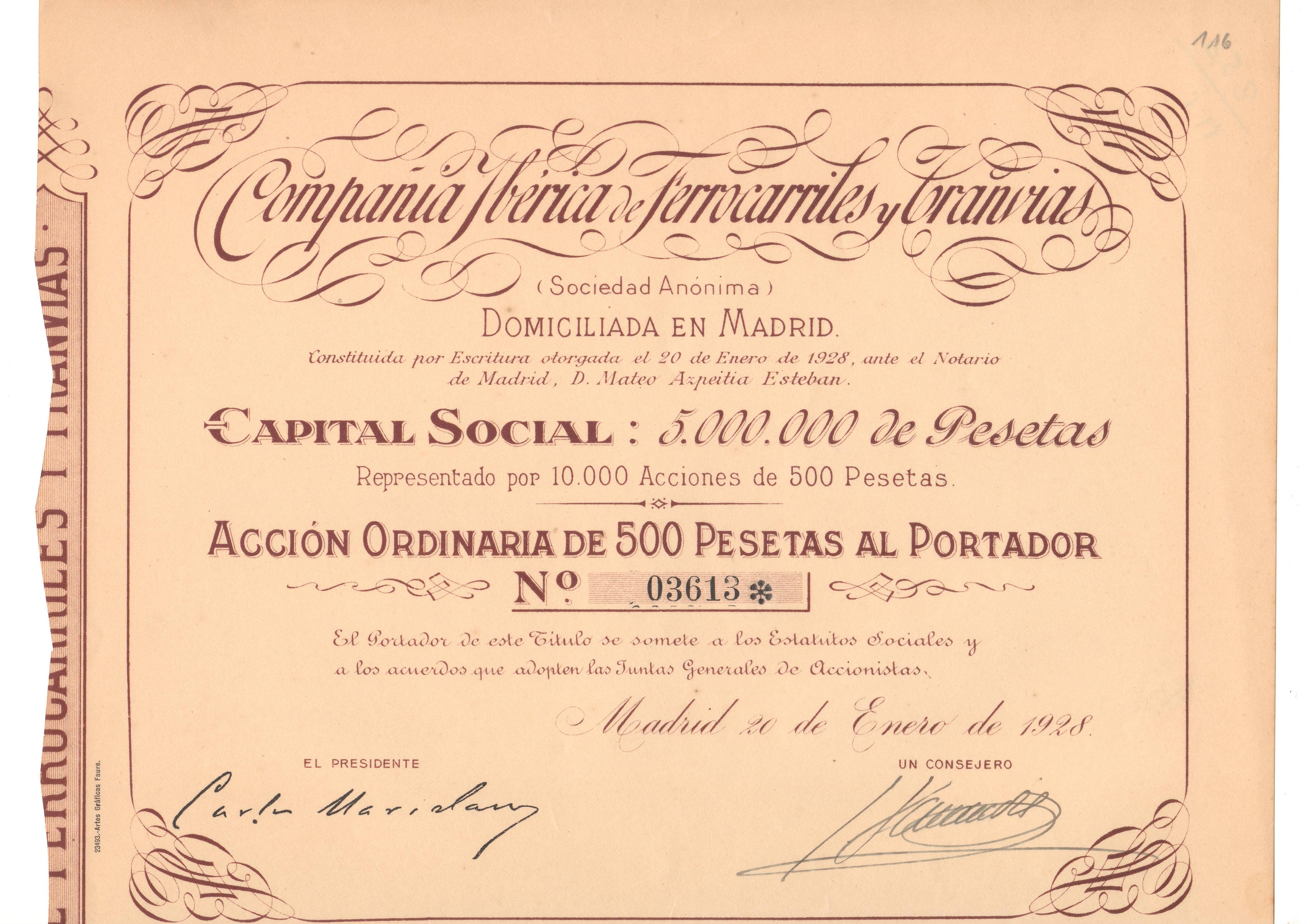 Compañía Ibérica de Ferrocarriles y Tranvías
