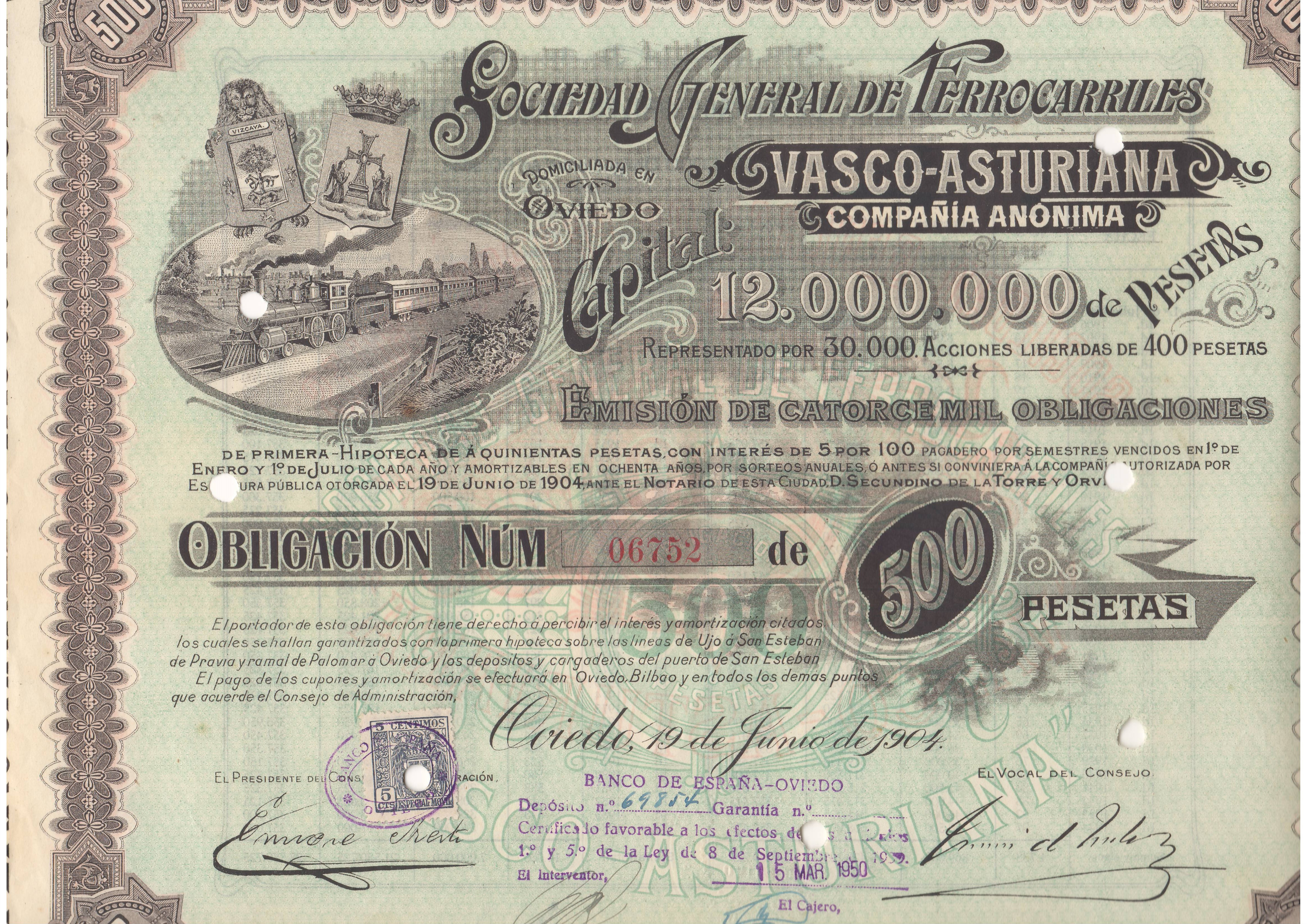 Sociedad General de Ferrocarriles Vasco-Asturiana