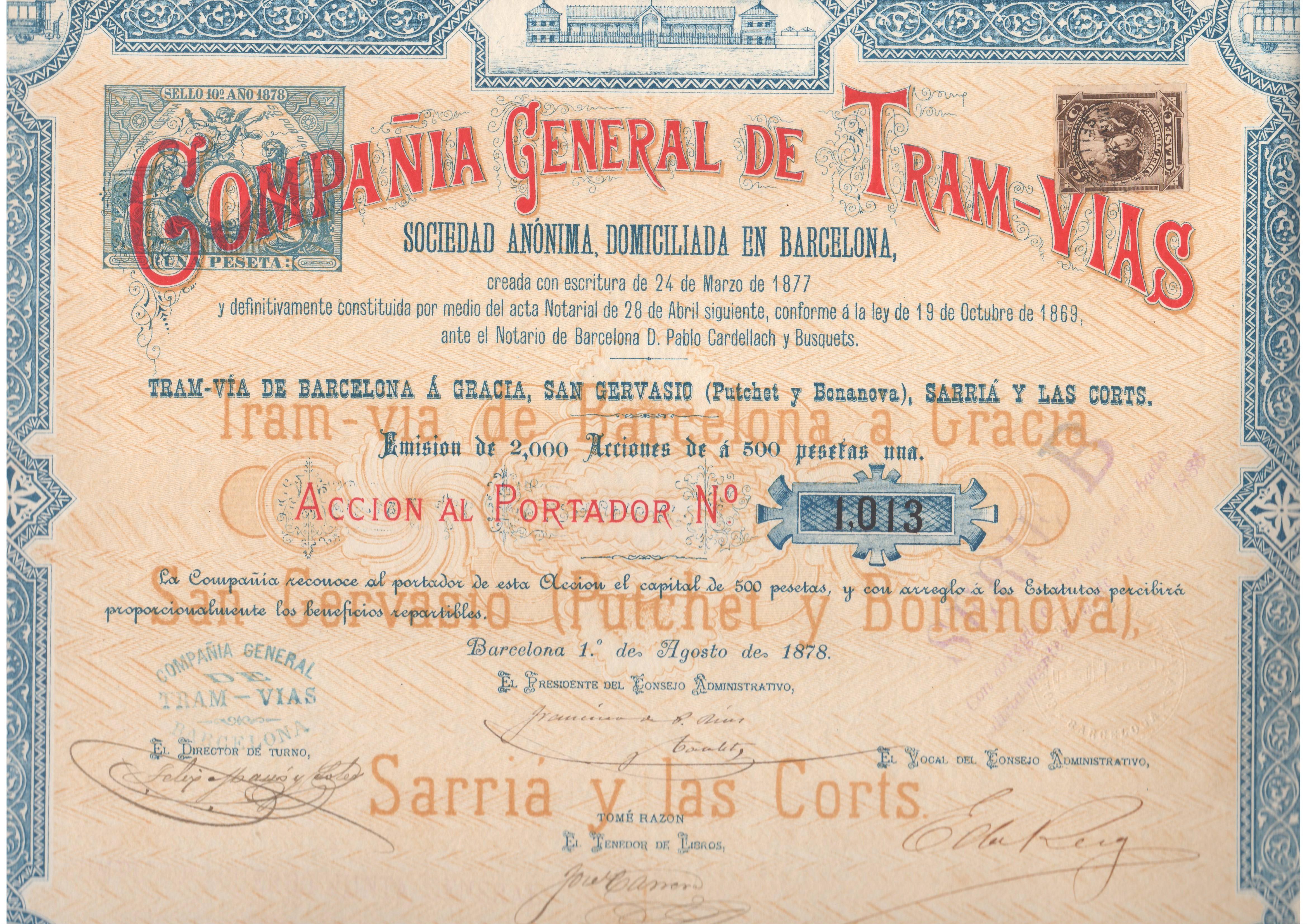 Compañía General de Tranvías