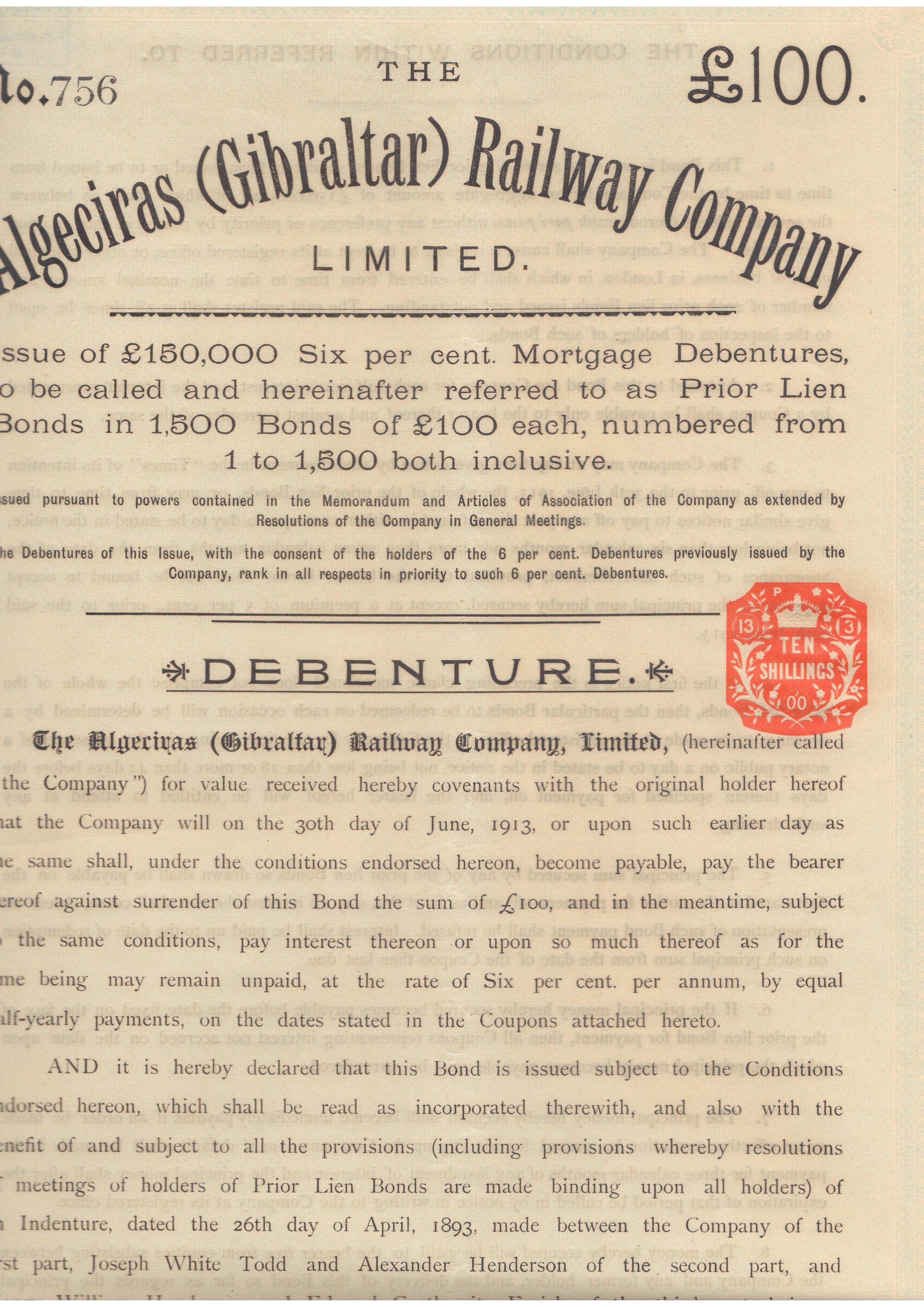 Algeciras (Gibraltar) Railway Company
