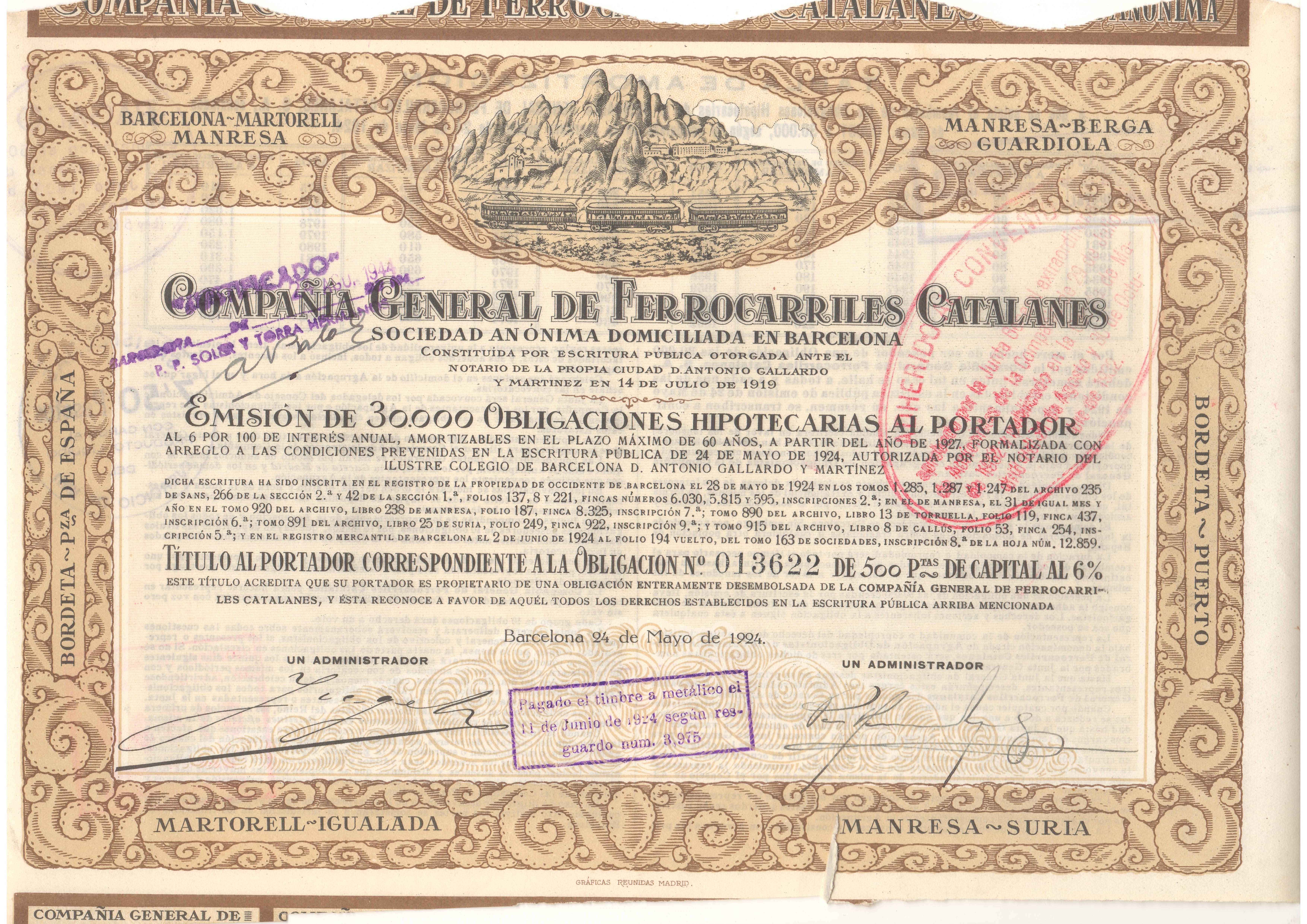 Compañía General de los Ferrocarriles Catalanes